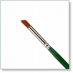7930 - Paint Supplies : AW Deerfoot Stippler penseel nr. 1/4