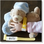 7744 - Accessories :  Hospital Wrist Band Sheet - Yellow