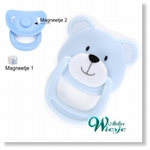 792025 - Accessories : Reborn Pacifier Blue - Bear