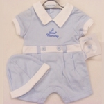 800110 - Clothing : Boys Play suit - I Love Mummy