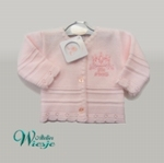 800114 - Clothing : Knitted baby cardigan - Little Princess
