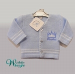 800115 - Clothing : Knitted baby cardigan - Little Prince