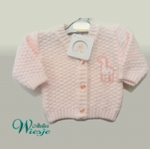 800116 - Clothing : Knitted baby cardigan - Little Giraffe - UITVERKOCHT