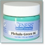 410119 - Paint :  Genesis Phthalo Green 06 -Soon available