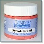 410123 - Paint :  Genesis Pyrrole Red 05