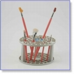 7424 - Paint Supplies : Multi bin Paint Brushes & Tool Holde