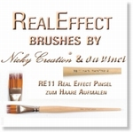 9861 - Real Effect RE11 Hair Painting 2 Special Brush